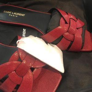 Saint Laurent Shoes - SOLD! YSL nu pied flat tribute sandals new w box!